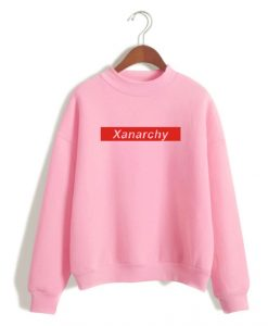 Xanarchy Red Box Sweatshirt