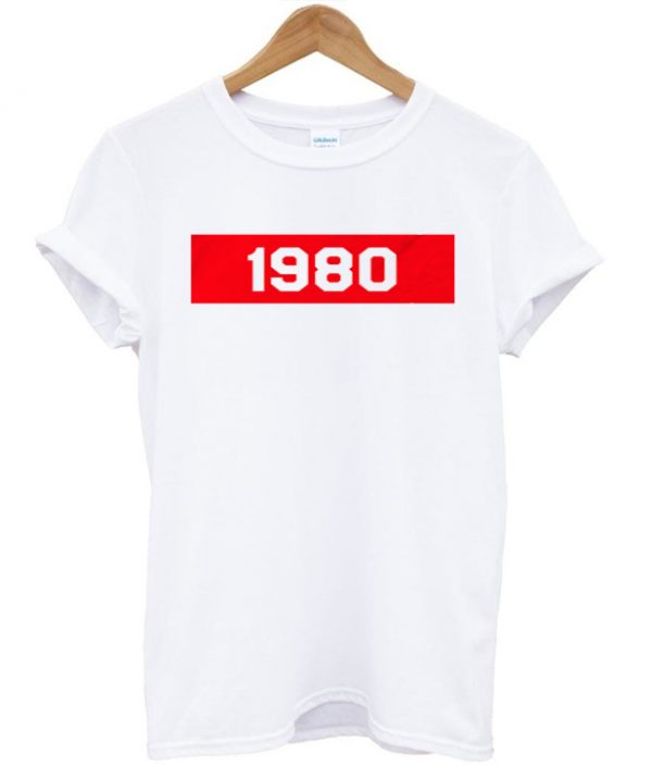1980 Red Box T-shirt