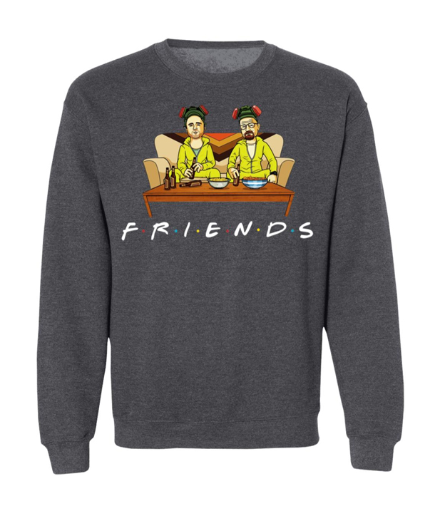 Breaking Bad Walter And Jesse Friends Sweatshirt