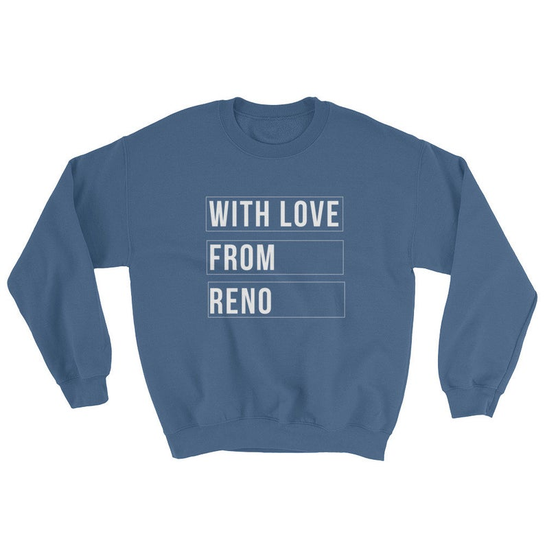 WLFR With Love From Reno Sweatshirt