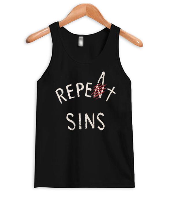 Repeat Sins Tank Top