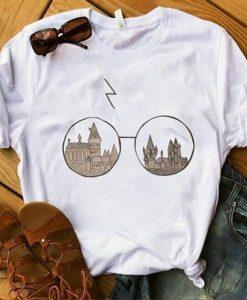 Hogwarts Glasses Harry Potter T-Shirt