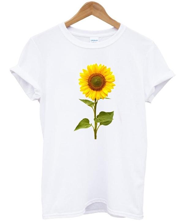 Sunflower Printed T-Shirt
