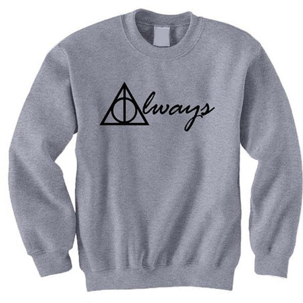 Always Harry Potter Crewneck Sweatshirt