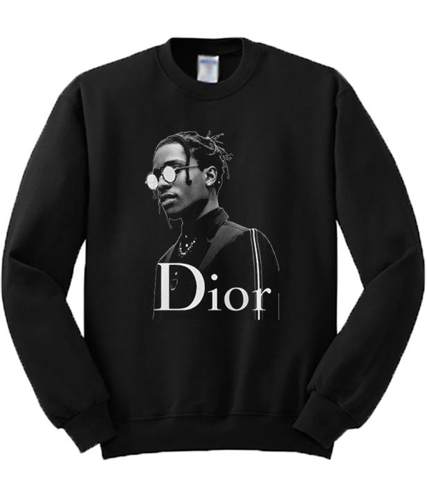Asap Rocky Black Sweatshirt