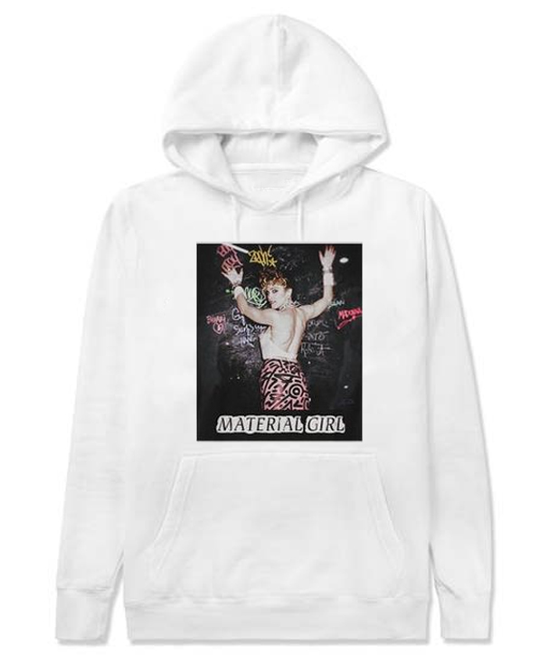 Madonna Material Girl Graphic Hoodie