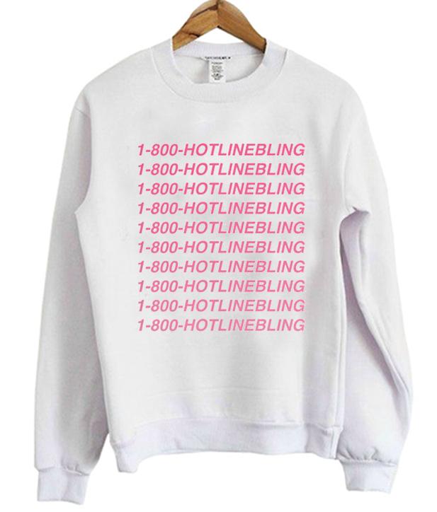 1 800 HOTLINEBLING Crewneck Sweatshirt