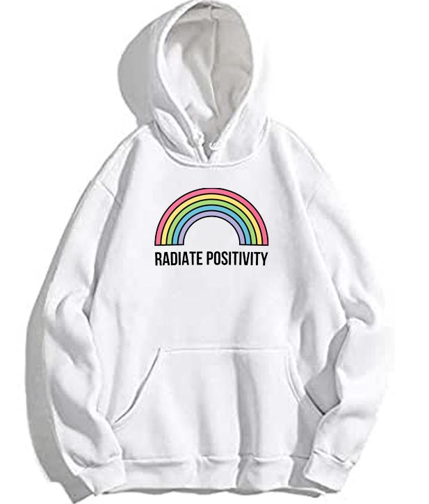 Radiate Positivity Rainbow Hoodie