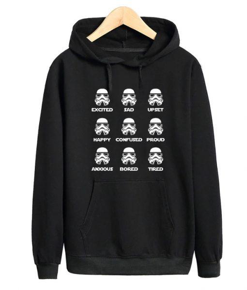 Stormtrooper Emotion Hoodie