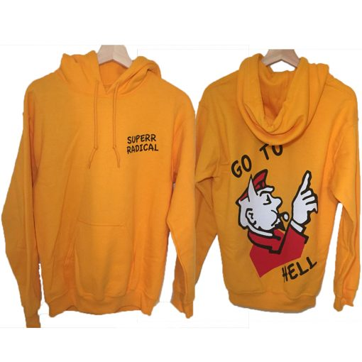 Go To Hell Monopoly Hoodie